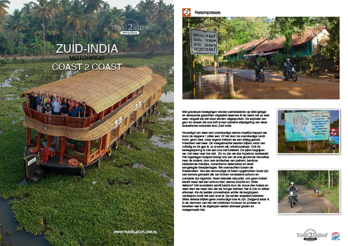 Download de brochure van onze motorreis in Zuid-India langs theeplantages en door tijgerreservaten
