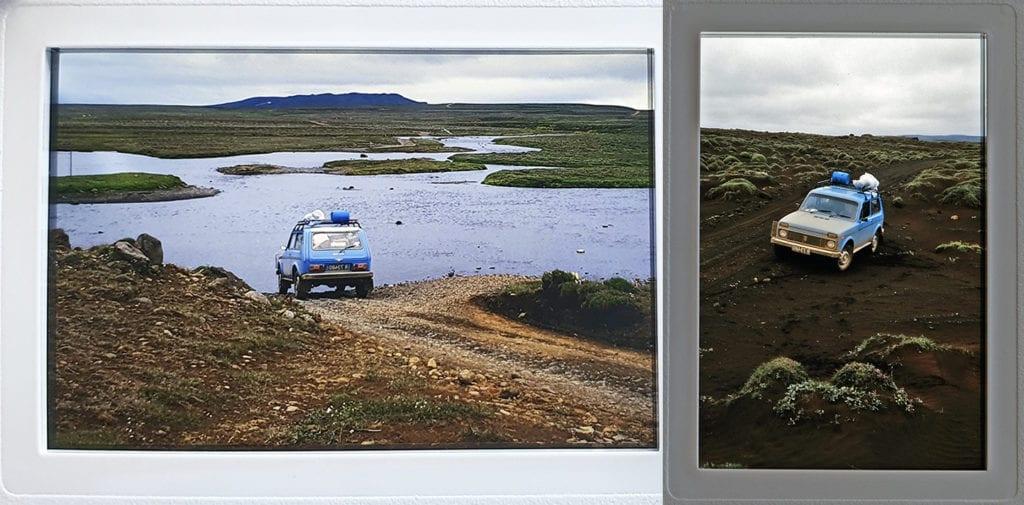 40 jaar IJsland. Met een heuse Lada Niva 4wd 5 weken door de wildernis van Ijsland.