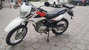 Honda 150 cc wordt ingezet op de motorreis door Noord-Vietnam van Travel 2 Explore motorreizen