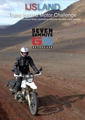 Download de IJsland GS reisbrochure van de Trans Iceland Motor Challenge