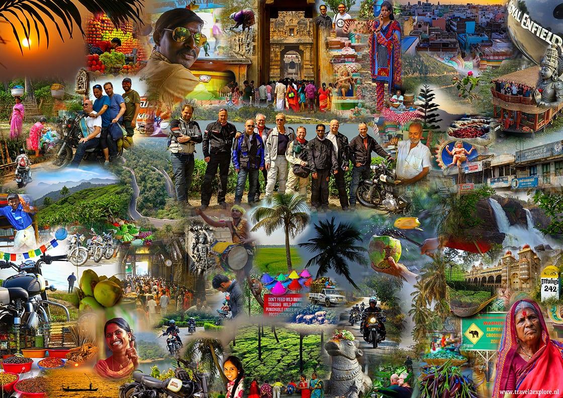 Motorreis Zuid-India van Travel 2 Explore motorreizen