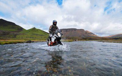 Media aankonsdiging presentatie motorreis IJsland