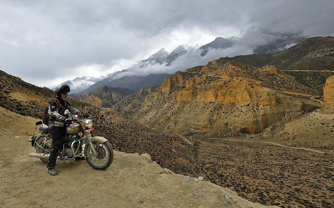 Meest bekeken motorreis in nepal, Upper Mustang van Travel 2 Explore motorreizen