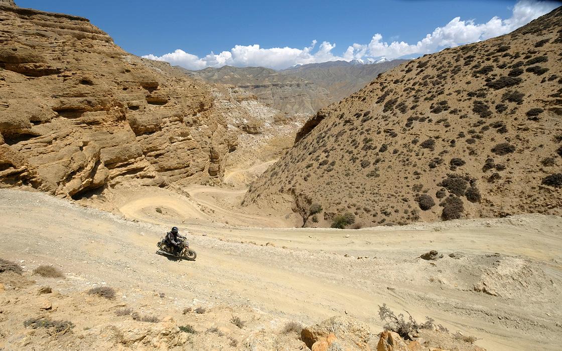 Motorreis presentatie Nepal en Upper-Mustang