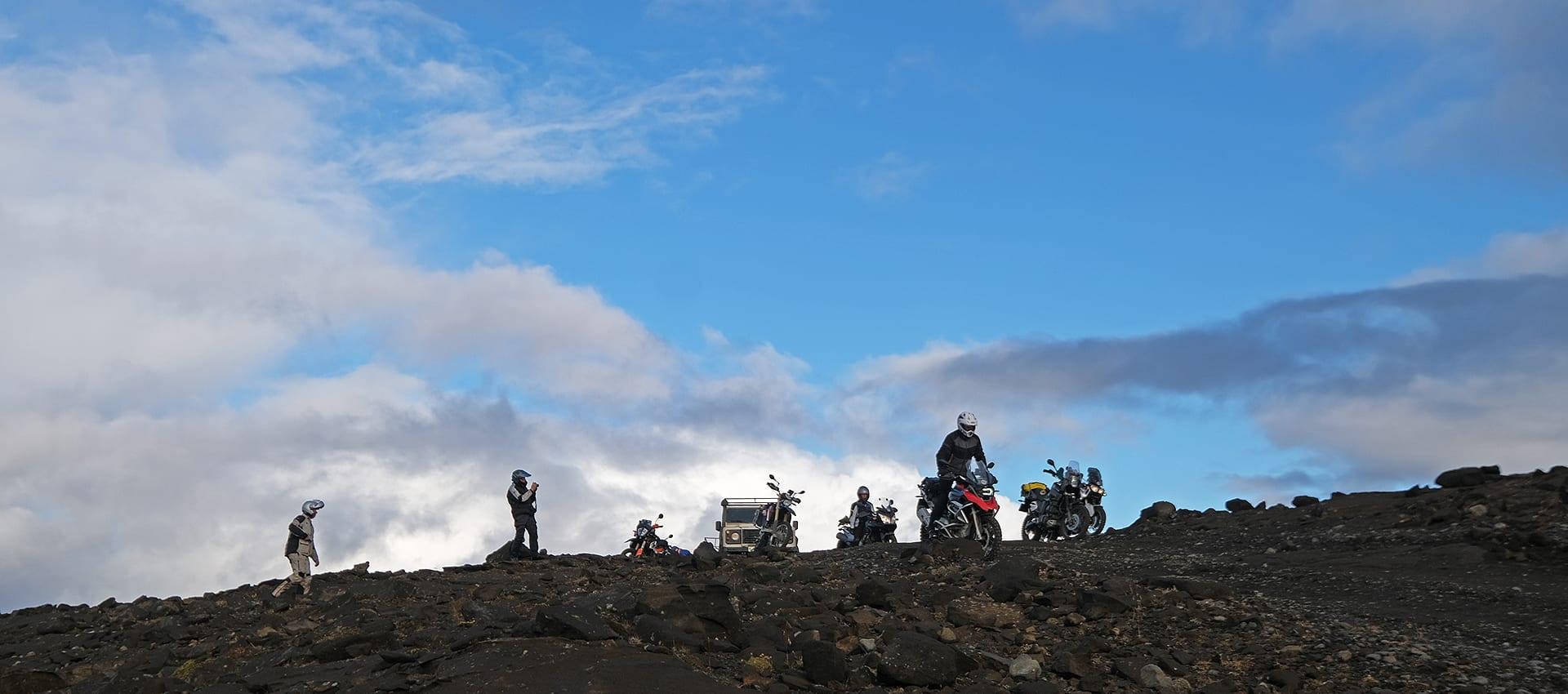 Trans Iceland Motor Challenge avontuurlijke motorreis in IJsland