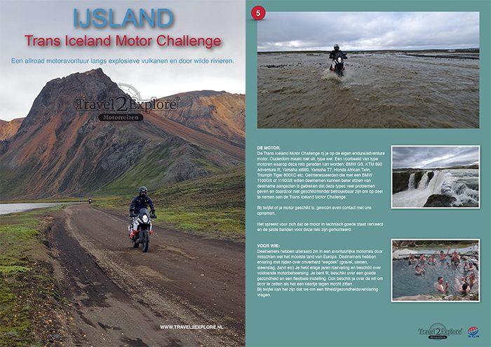 Download brochure motorreis IJsland 2022 en 2023 van Travel 2 Explore Motorreizen