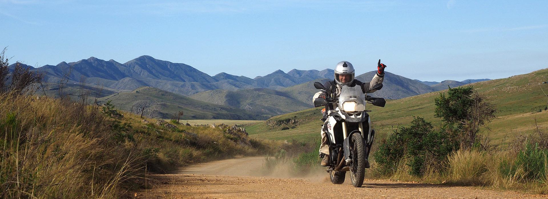 Motorreis Zuid-Afrika Die Hel deelnameformulier