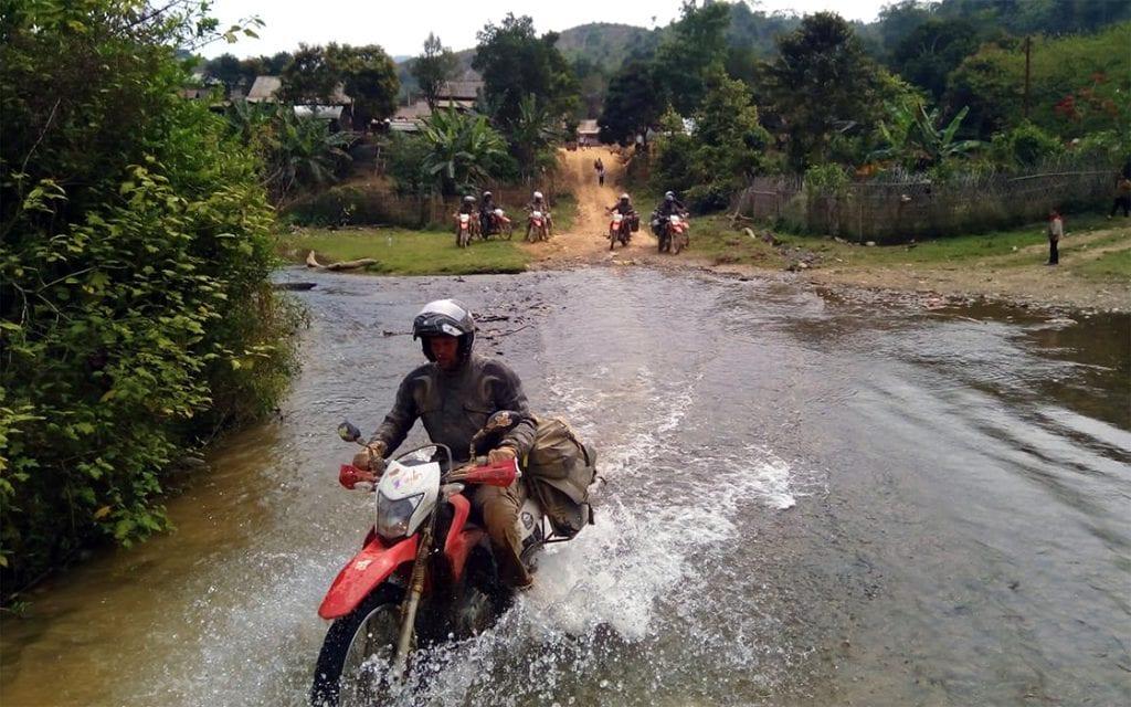 Motorreis door Laos en Vietnam, de Indo China Motor Challenge van Travel 2 Explore Motorreizen