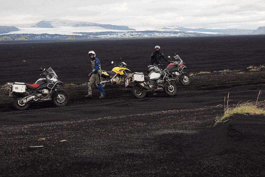 Motorreis IJsland De oude ringweg van IJsland tijdens wordt met de motorreis IJsland van Travel 2 Explore ook gereden.