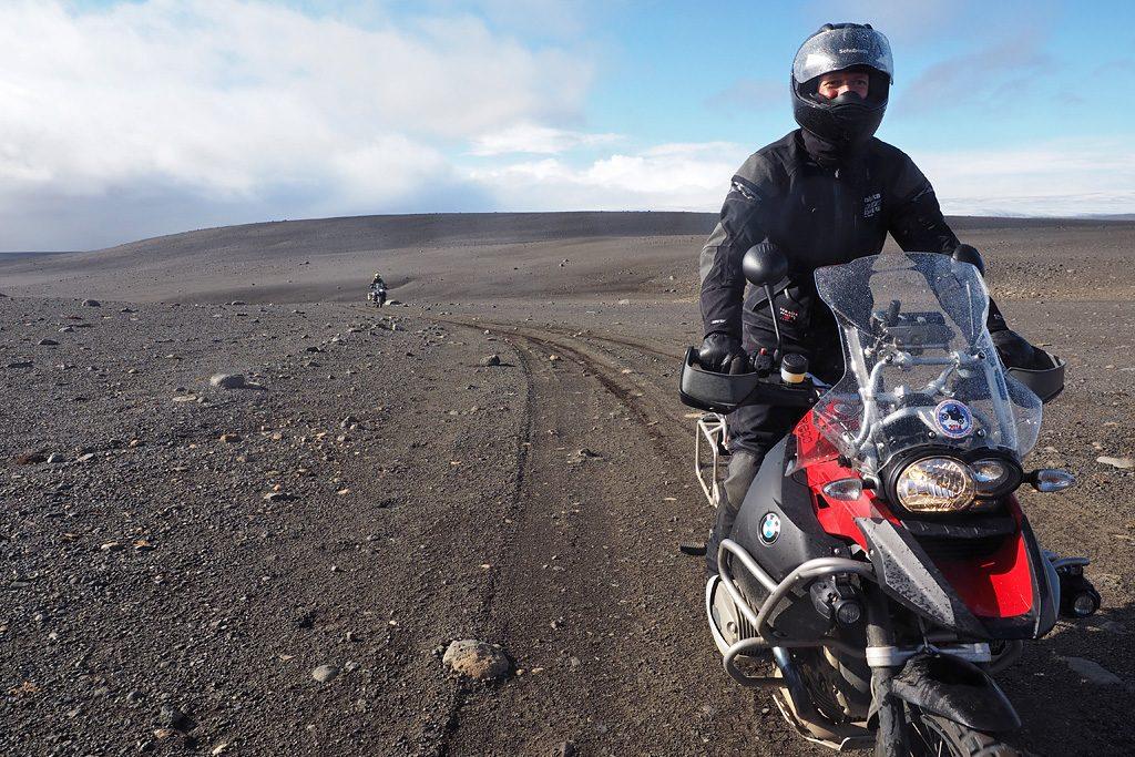Motorreis-IJsland-omrijden vanwege vulkaaruitbarsting bardarbunga