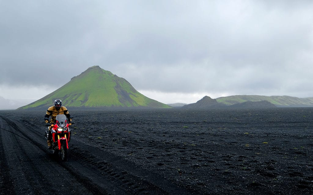 IJsland avontuurlijke motorreizen, twee keer op de motor dwars door het binnenland van IJsland
