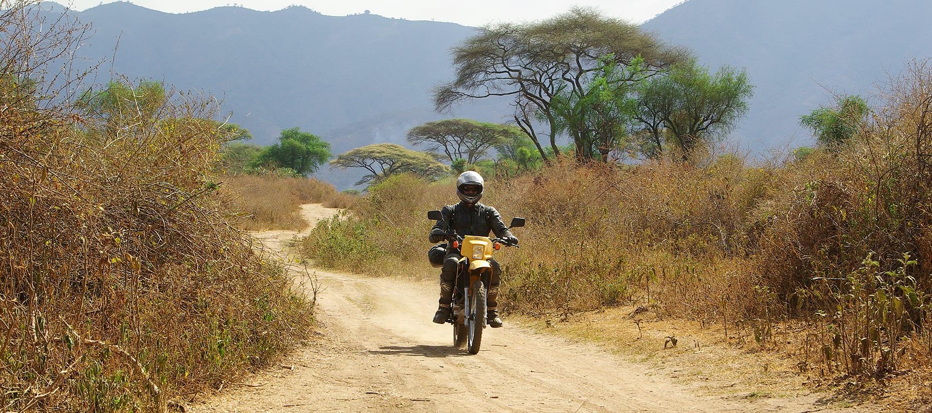 Motorreizen Ethiopie de Abessinnie motor challenge van Travel 2 Explore