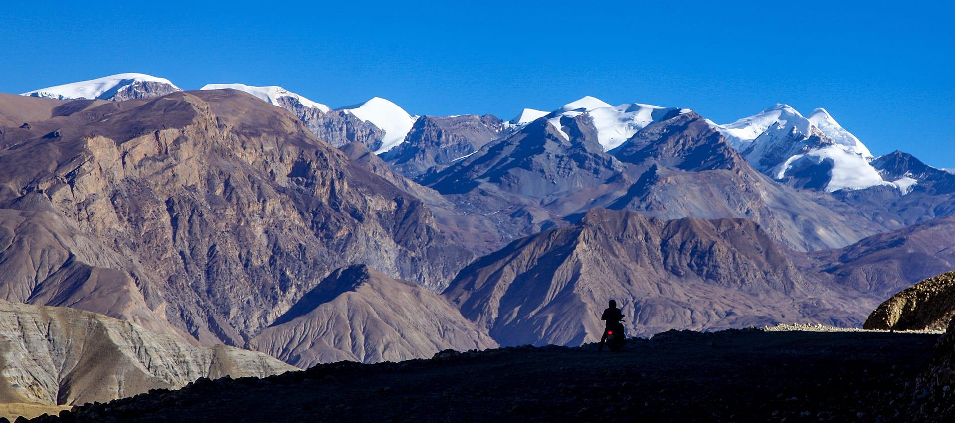 Unieke motorreis naar de oud Tibetaanse stad Lo Manthang in Upper-Mustang, nepal