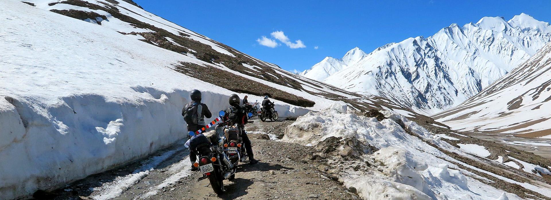 Drie verschillendeHimalaya motorreizen in India, Nepal, Zanskar, Ladakh en Upper-Mustang elk met zijn eigen karakter