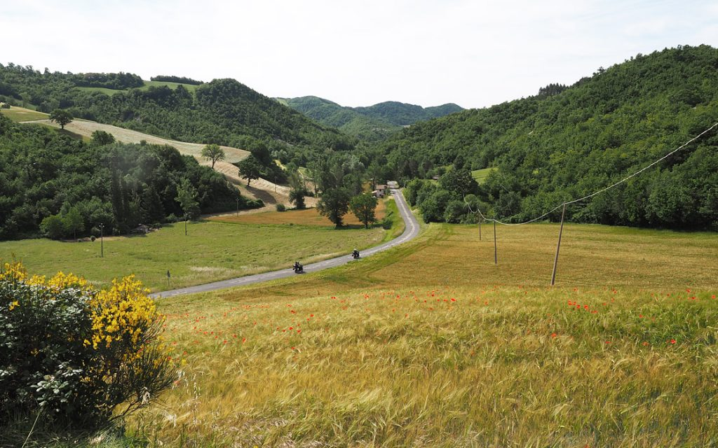 Foto 19 fotoboek motorreis Italie, Le marche. Travel 2 Explore motorreizen.