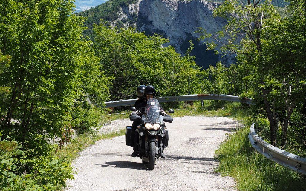 Foto 23 fotoboek motorreis Italie, Le marche. Travel 2 Explore motorreizen.