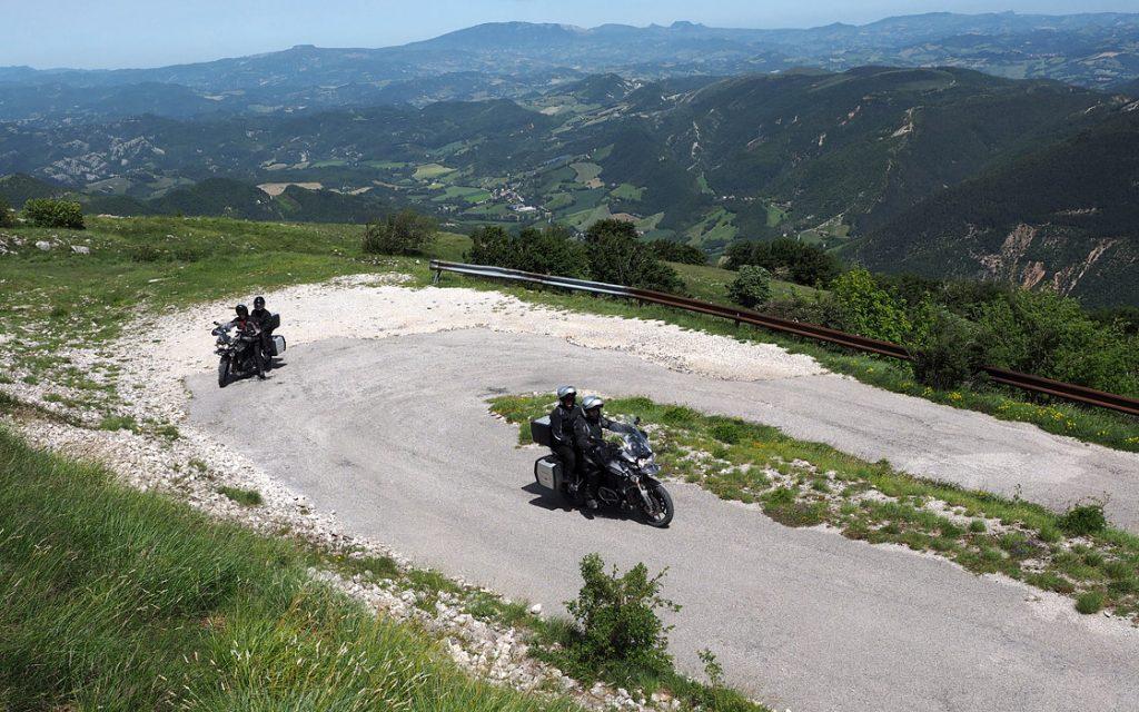Foto 14 fotoboek motorreis Italie, Le marche. Travel 2 Explore motorreizen.