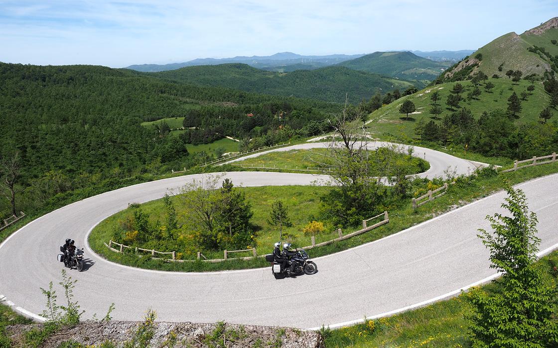 Motorvakantie in Italie is ook een motorreisbestemming van Travel 2 Explore motorreizen