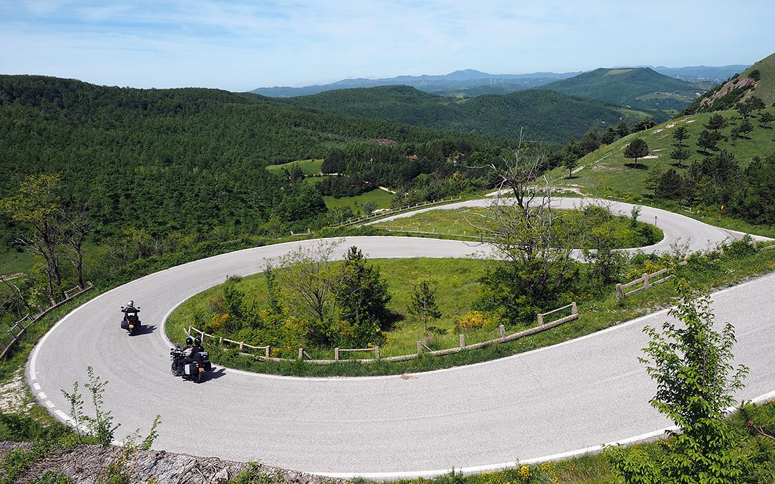Motorreis Italie reisgegevens van de reis door Le Marche van Travel 2 Explore motorreizen