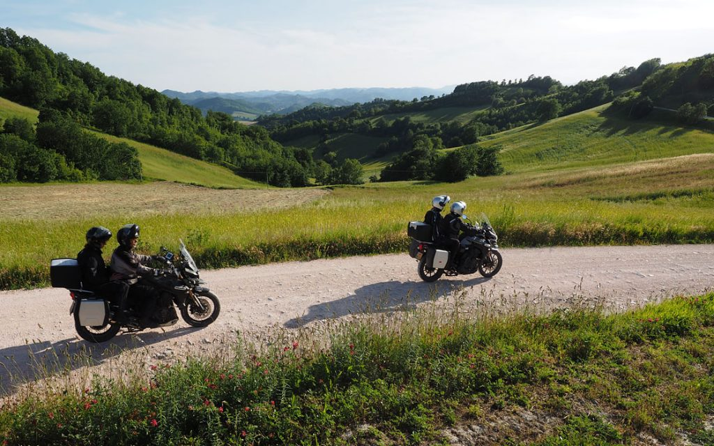 Foto 3 fotoboek motorreis Italie, Le marche. Travel 2 Explore motorreizen.