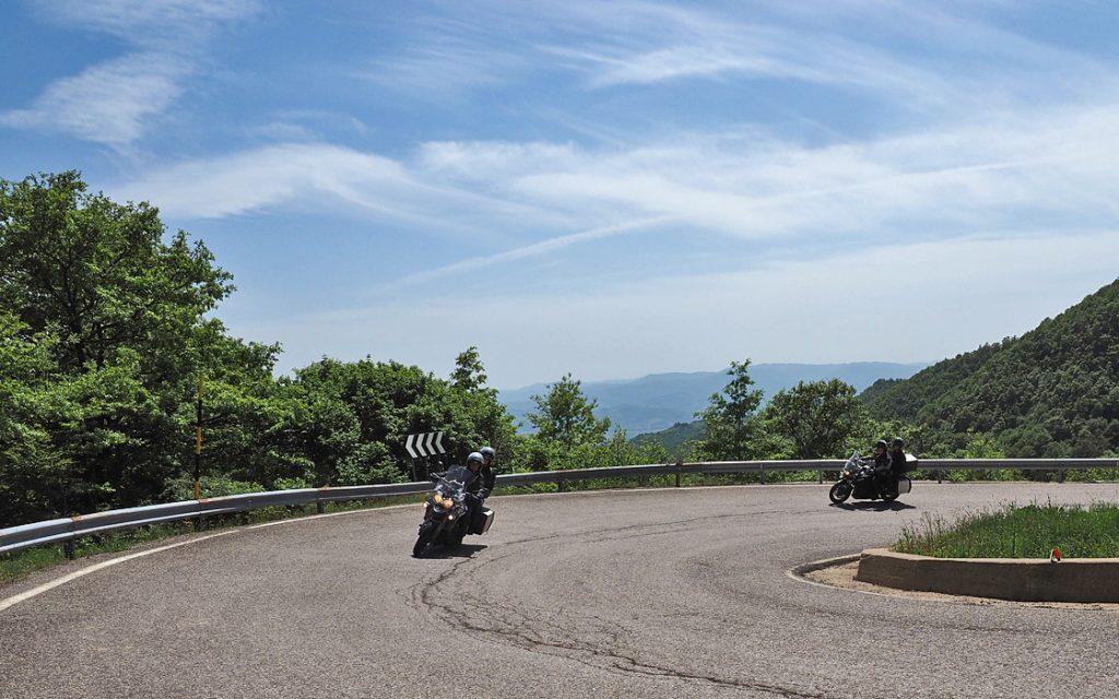Foto 5 fotoboek motorreis Italie, Le marche. Travel 2 Explore motorreizen.