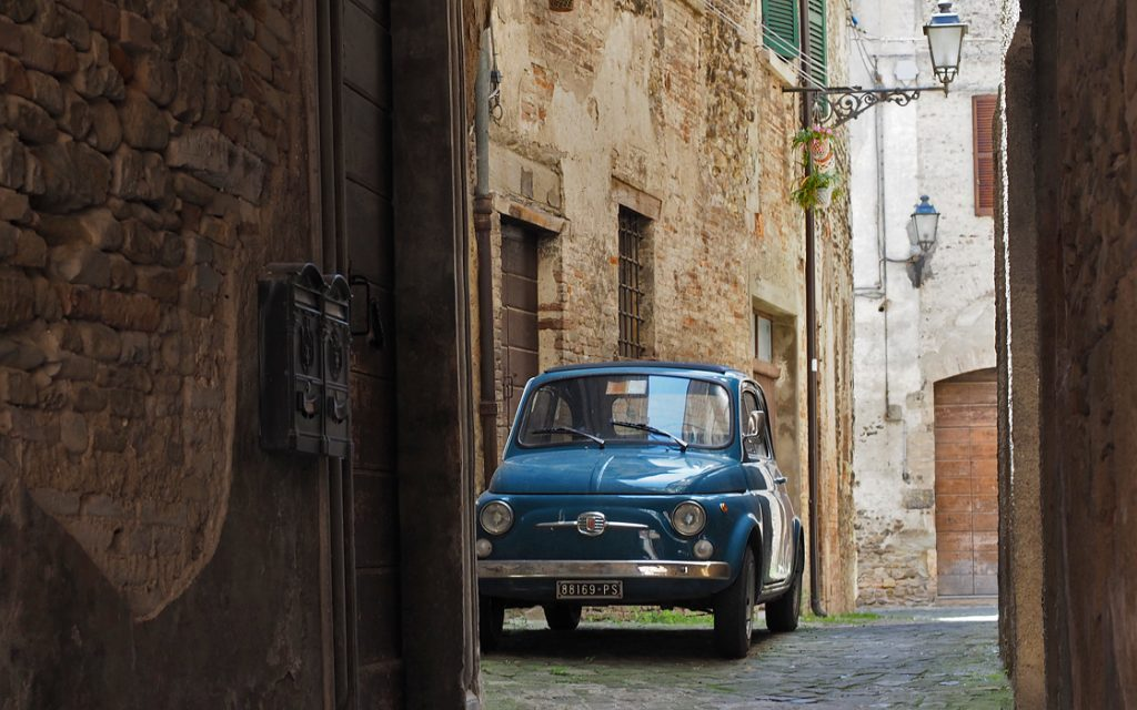 Foto 10 fotoboek motorreis Italie, Le marche. Travel 2 Explore motorreizen.