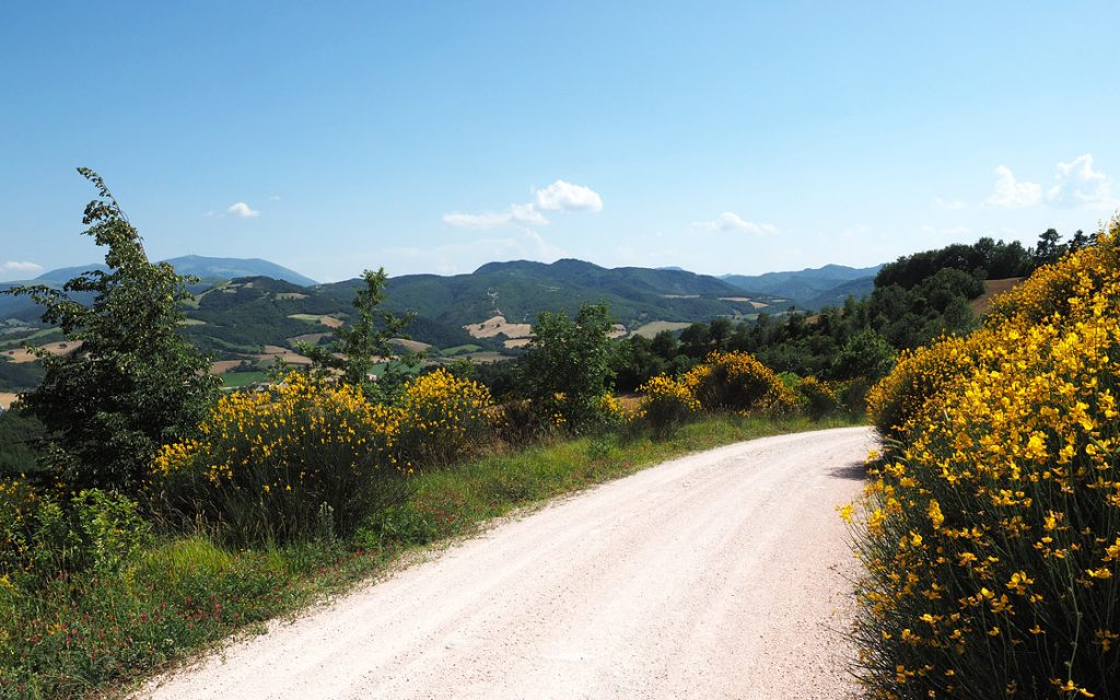 Foto 11 fotoboek motorreis Italie, Le marche. Travel 2 Explore motorreizen.