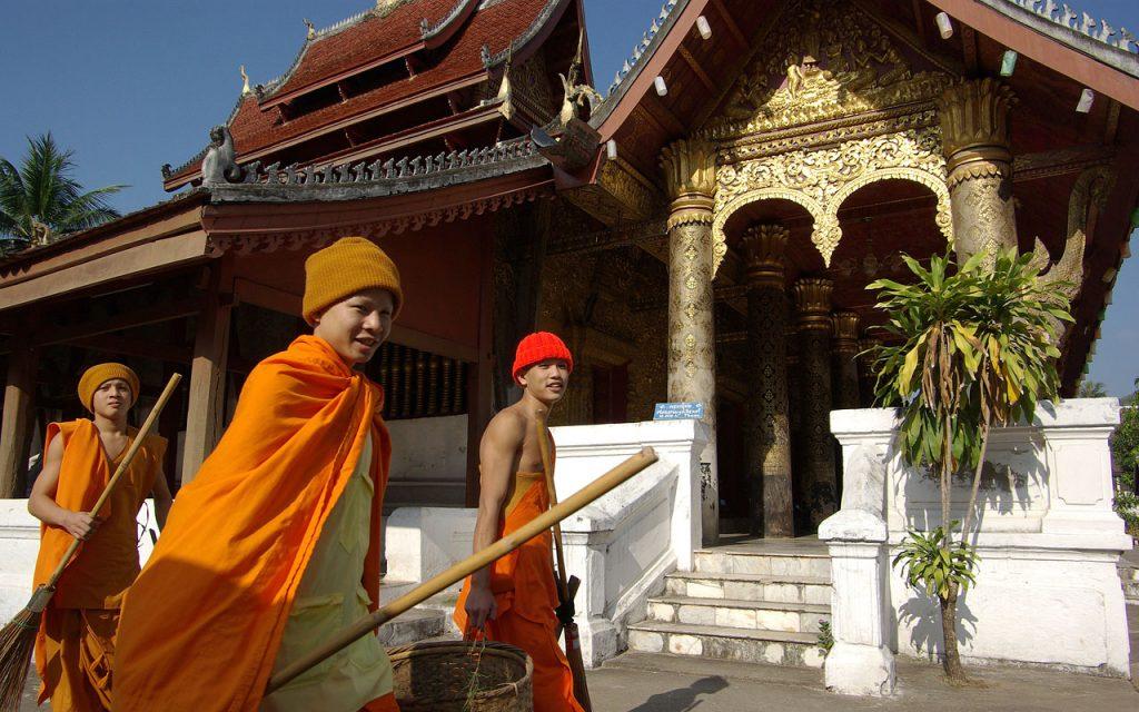 Prachtig Luang Prabang tijdens de motorreis Laos-Vietnam met Travel 2 Explore