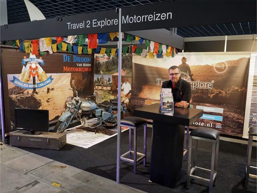 Motorbeurs Utrecht, ook in 2020 zijn wij NIET van de partij, Travel 2 Explore Motorreizen