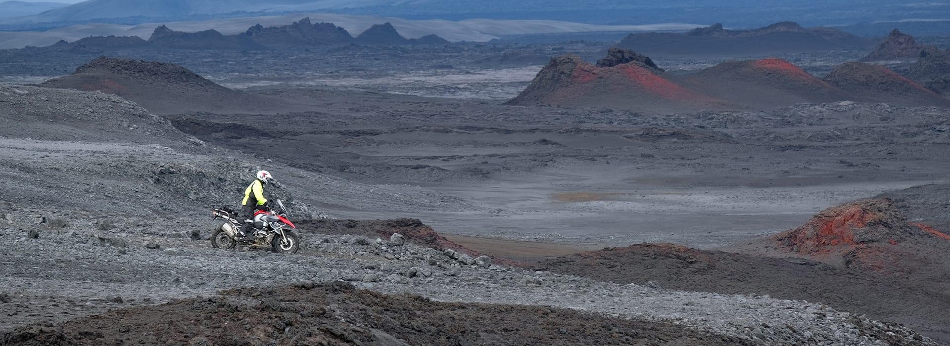 Trans Iceland Motor Challenge, avontuurlijke motorreis van Travel 2 Explore