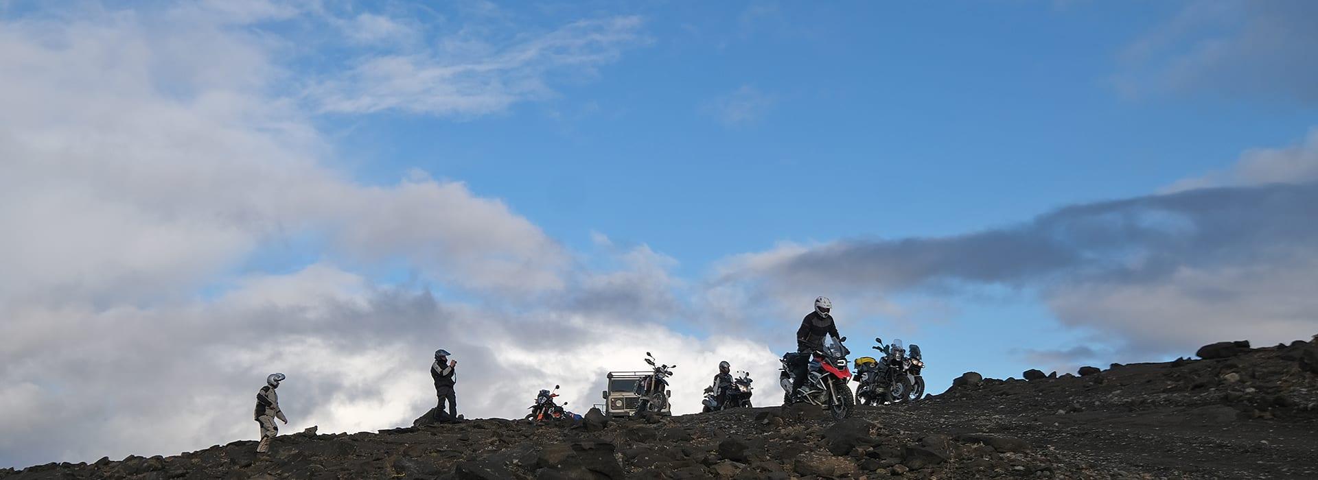 Trans Iceland Motor Challenge, avontuurlijke motorreis dwars door het vulkanische binnenland van IJsland