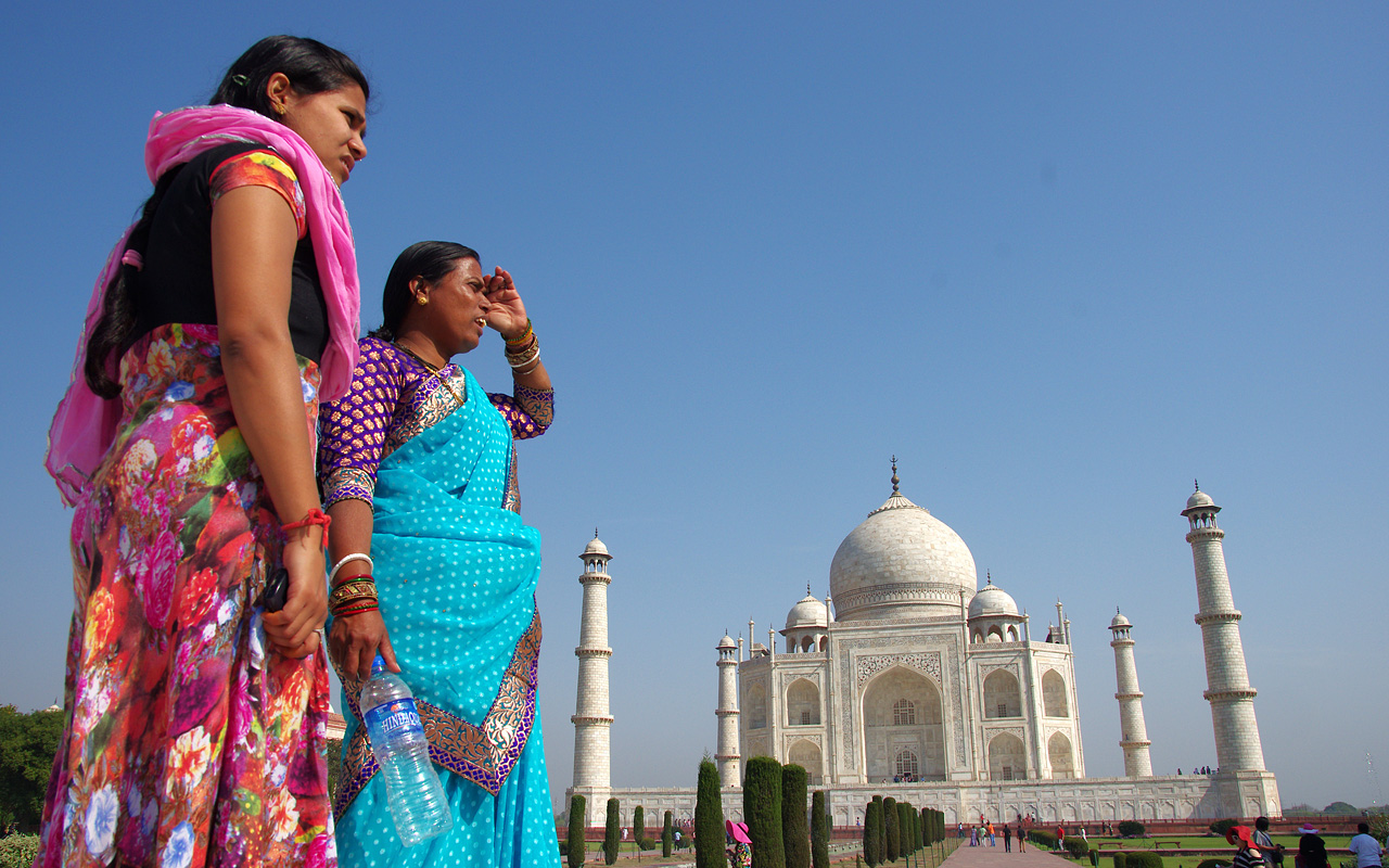 Motorreis India Taj Mahal