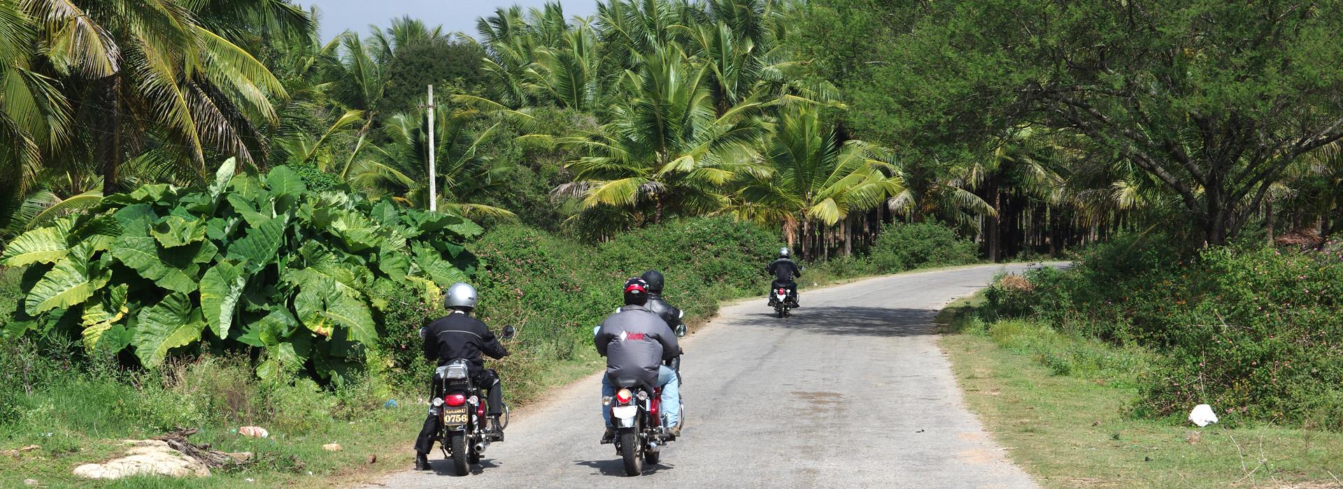 Motorreis dwars door India