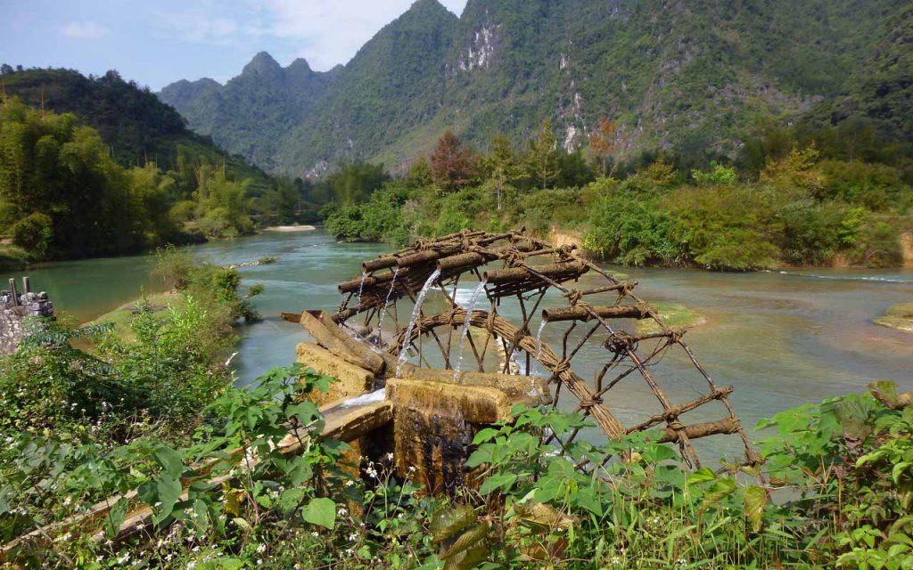 Prachtige natuur tijdens de motorreis Vietnam met Travel2Explore