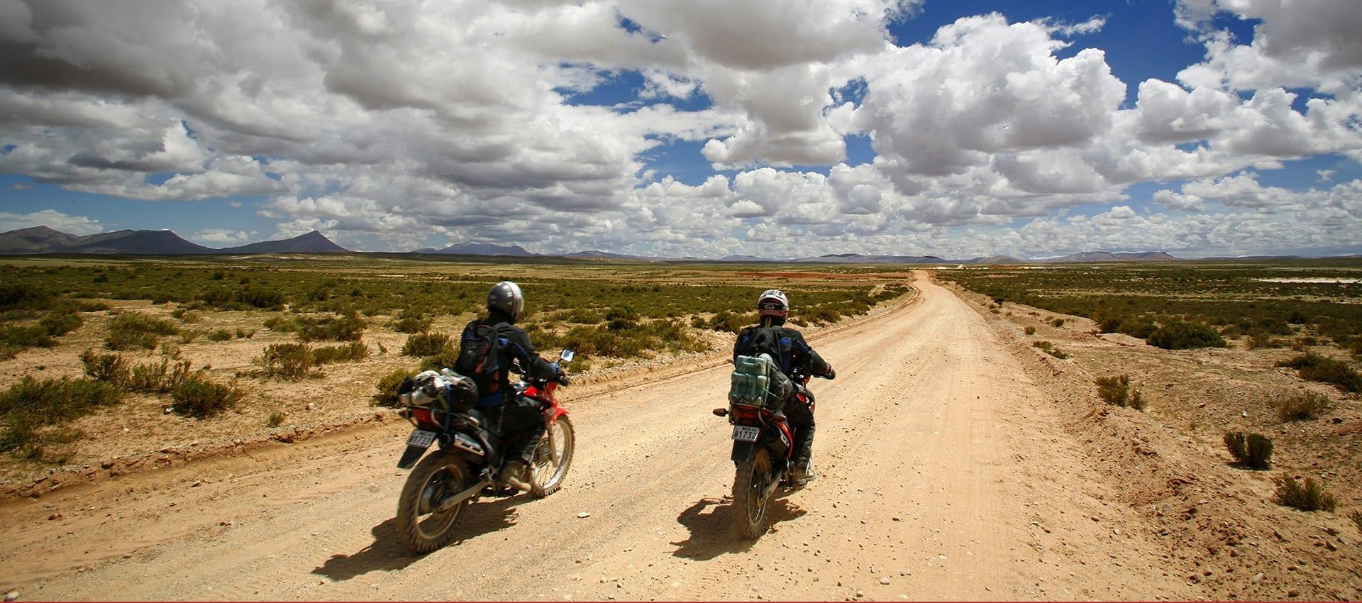 Download de brochure met aanvullende informatie over onze piot motorreis naar Peru
