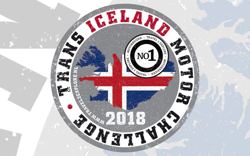 Wannahave sticker van de motorreis IJsland, de Trans Iceland Motor Challenge van Travel 2 Explore