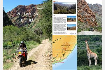 Brochure motorreis Zuid-Afrika, Die Hel. 17 daagse offroad motorvakantie van Travel 2 Explore