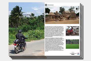 Motorreis Zuid-India brochure van Travel 2 Explore motorreizen