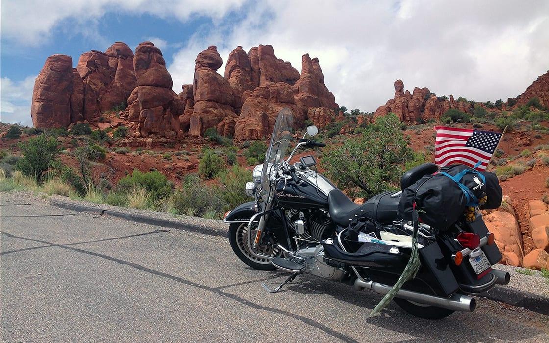 Voorinschrijving motorreis USA de Four Corners Motor Challenge